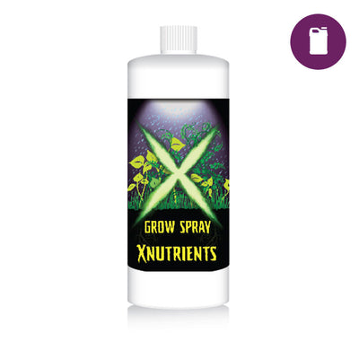 X Nutrients Grow Spray 1 Quart