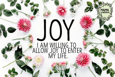 Self-care tip - experience joy
