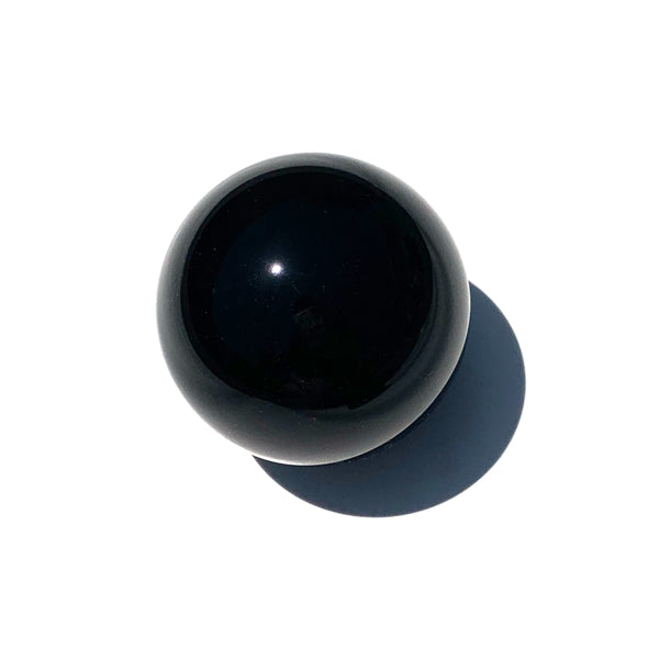 Black Onyx Crystal Ball With A Two Inch Diameter