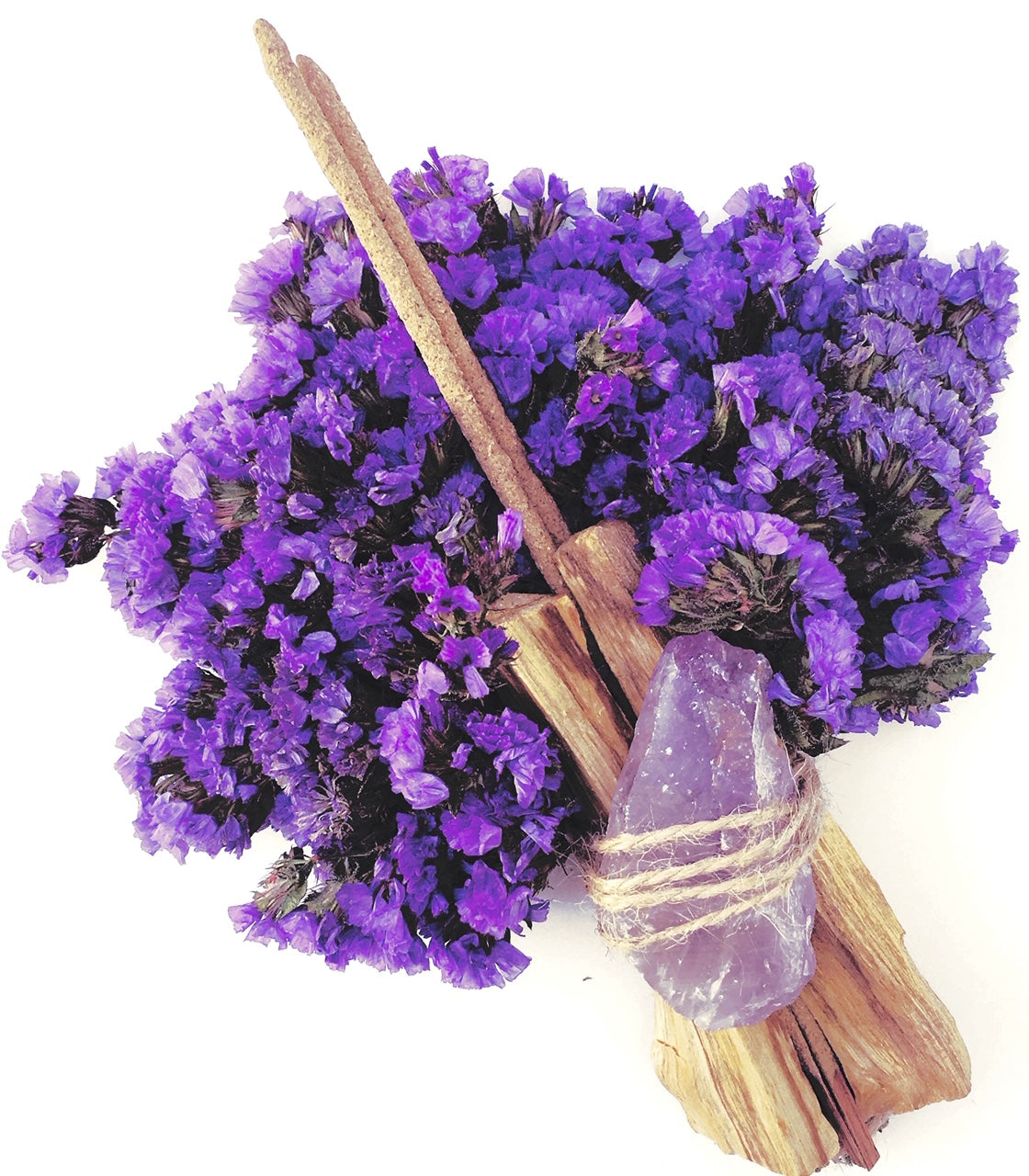 Palo Santo Incense Dried Flower Bouquet