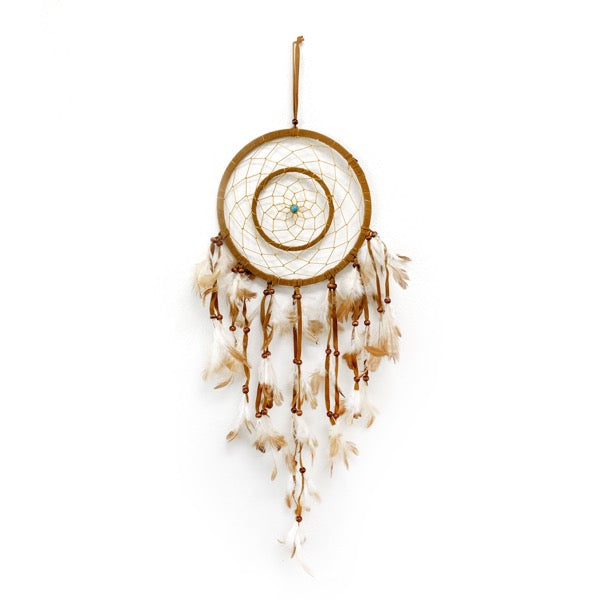 Large Tan Dream Catcher