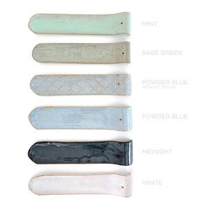Ceramic Bar Incense Holder