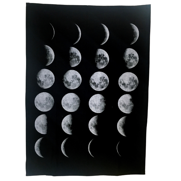 Moon Phase Tea Towel