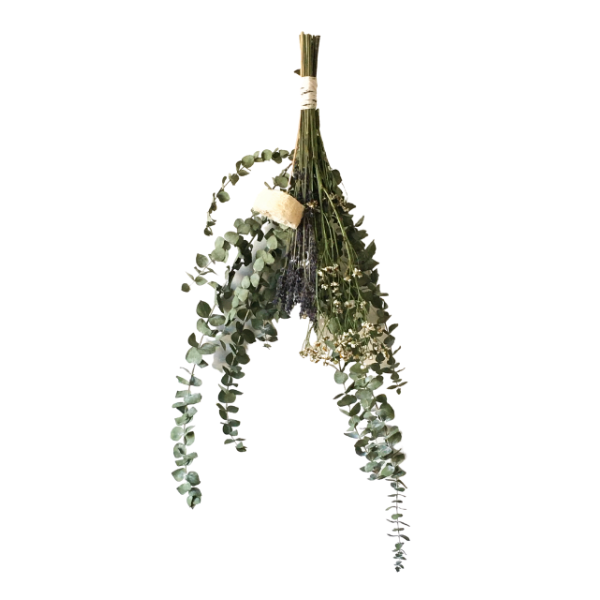 Shower Sprig With Eucalyptus, Lavender, Camomile