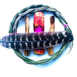 Sweetgrass Smudge Kit