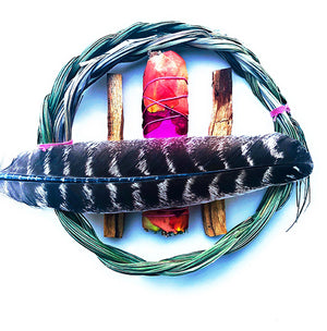 SMUDGE KIT Sweetgrass