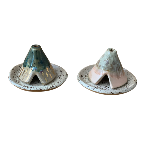 Forrest and Guave Tee-pee Incense Holder