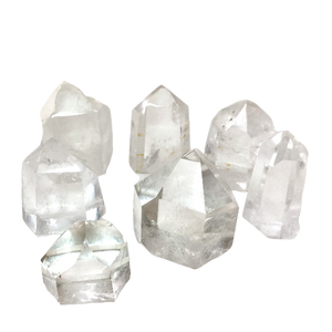 Clear Quartz Towers