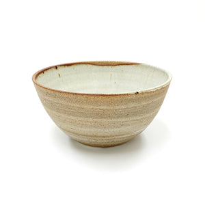 Brown and White Ceramic Bowl