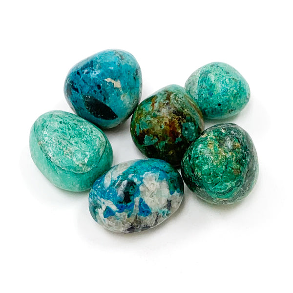 Tumbled Chrysocolla Crystal