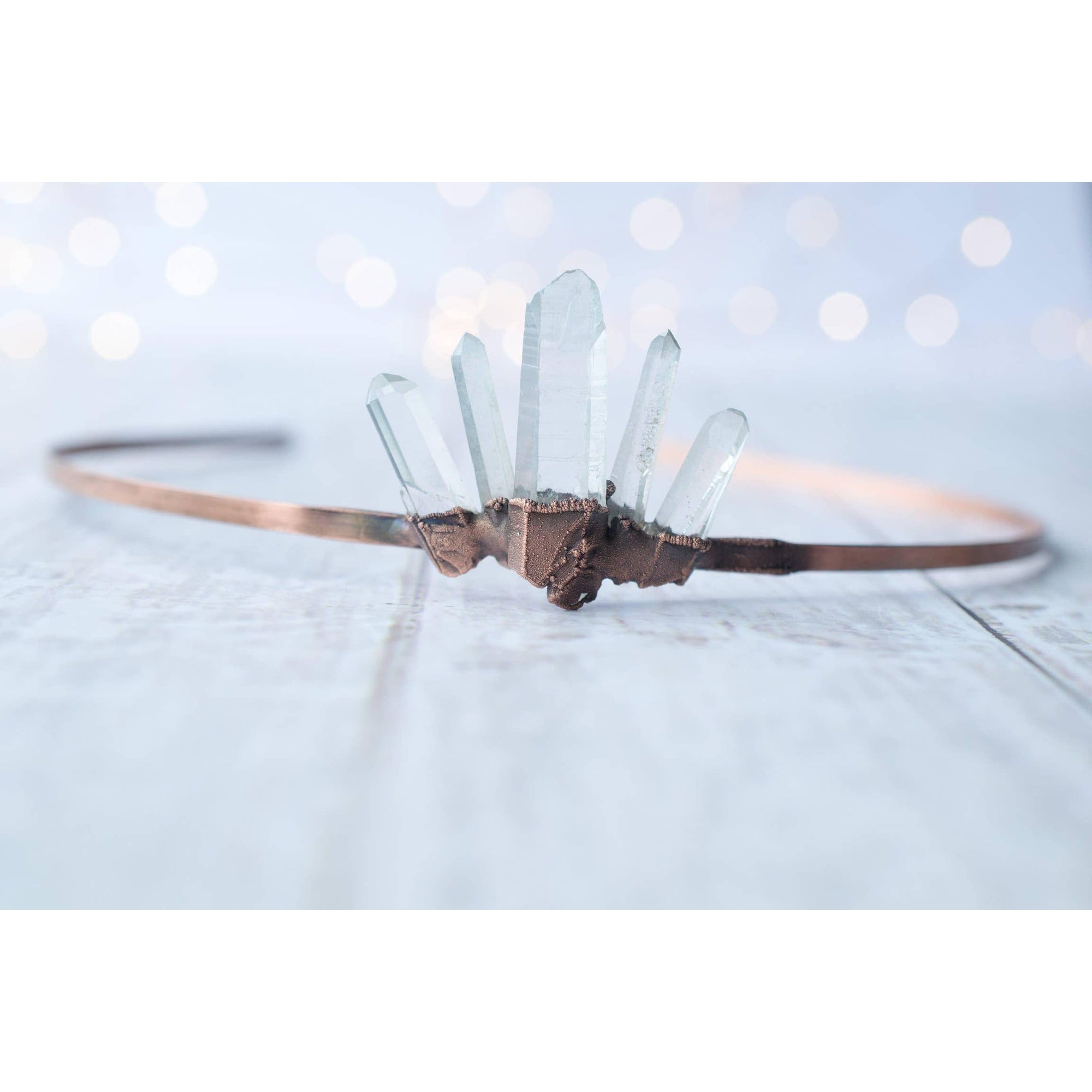 Quartz Crystal Crown Headband