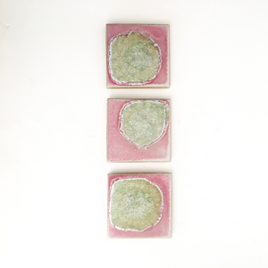 Square Crystal Coaster Set (4)
