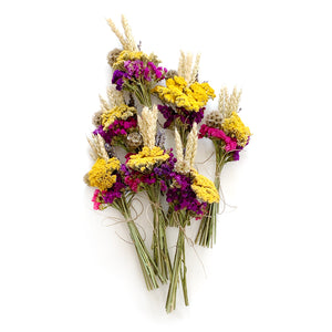 Mini Dried Flower Bouquet