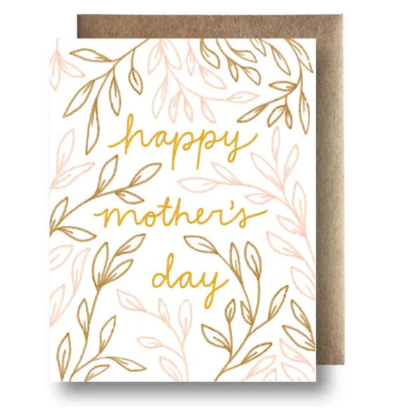 Happy Mother's Day Foliage