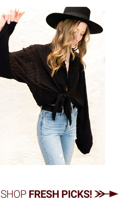 gypsy tie top shop the canyon apparel home vintage
