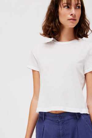 Luxe Foster Tee - Whitewash - The Canyon