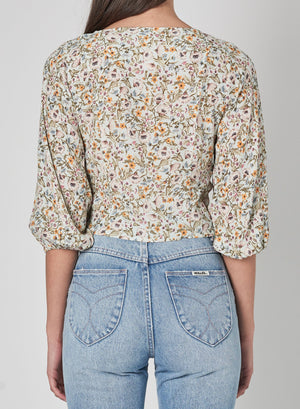 Roxanne Meadow Floral Blouse - The Canyon