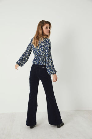 Ella Rambling Rose Blouse - The Canyon