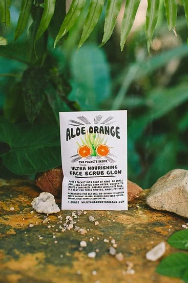 Aloe Orange Face Scrub Glow - The Canyon