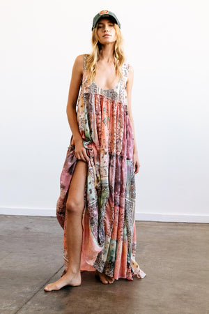Bandana Rama Maxi Dress - The Canyon
