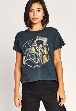 Keep on Rollin Reverse Girlfriend Tee - The Canyon