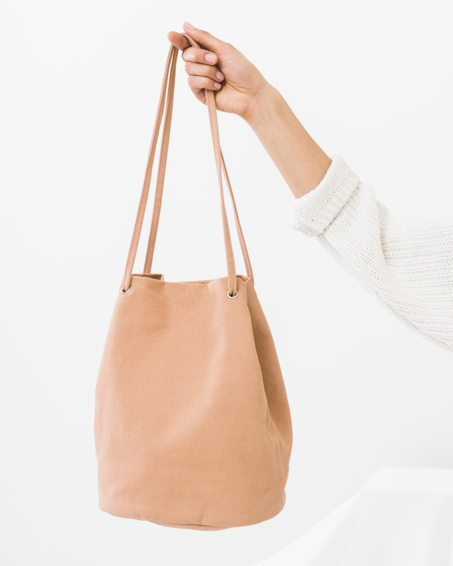 Canvas Bucket Bag - The Canyon