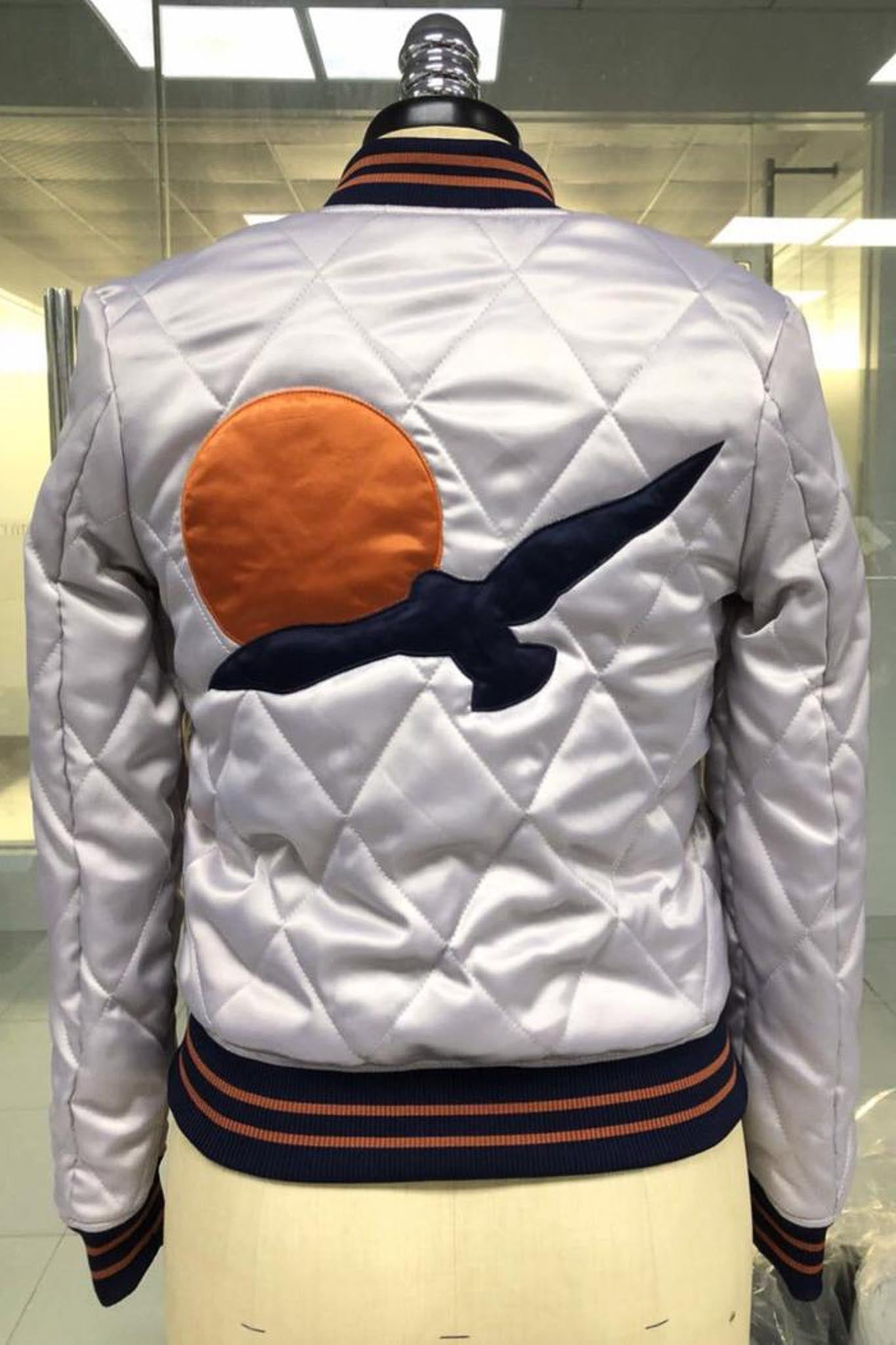 Silver Wings Jacket - Silver - The Canyon
