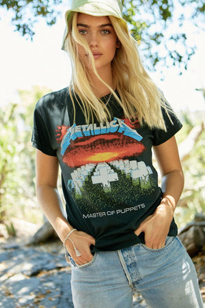 Metallica Master of Puppets Tee - The Canyon