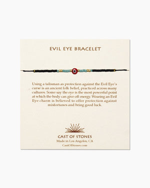 Evil Eye Beaded Bracelet - The Canyon