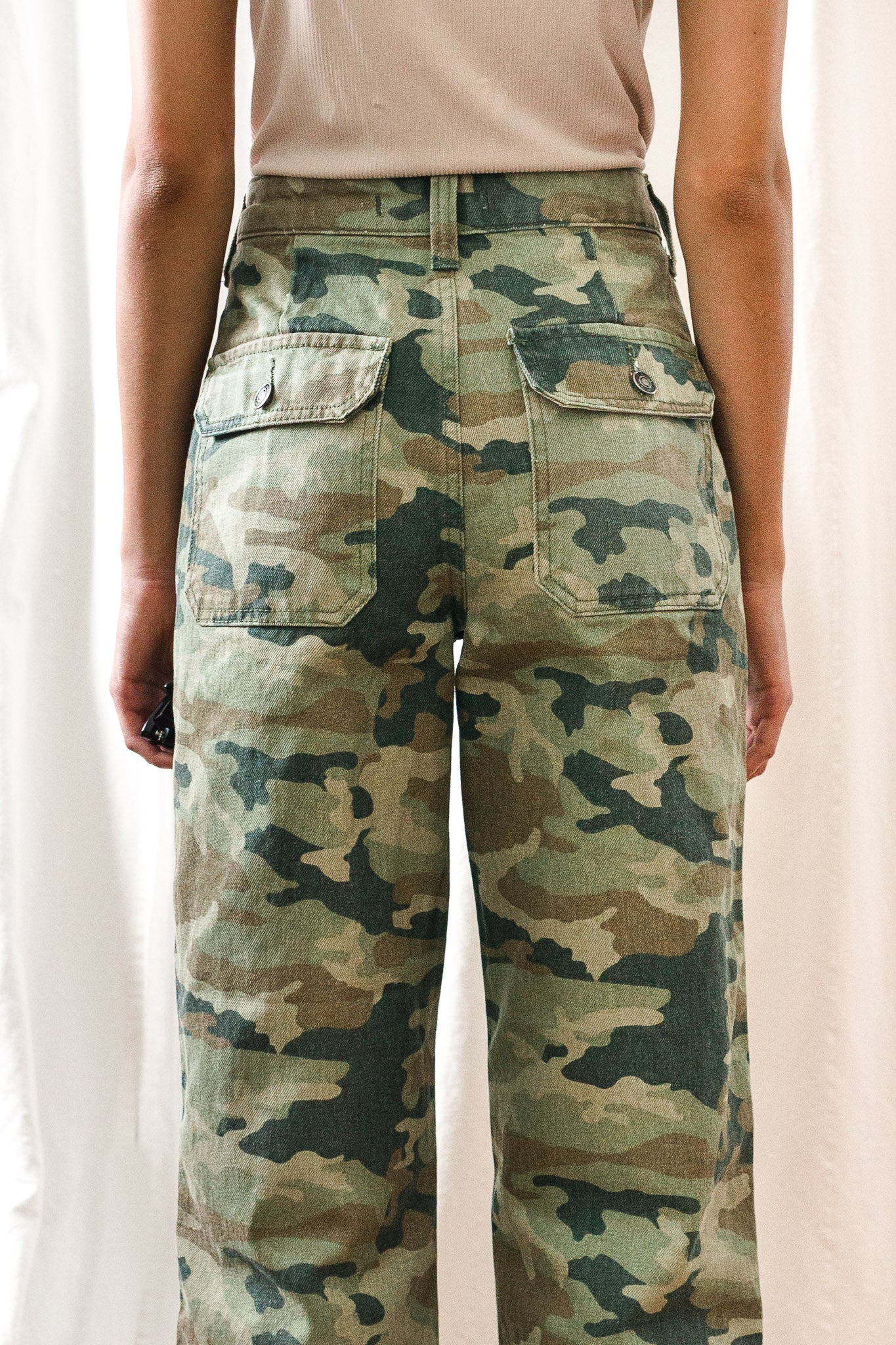Remy Pant Camo Printed - The Canyon
