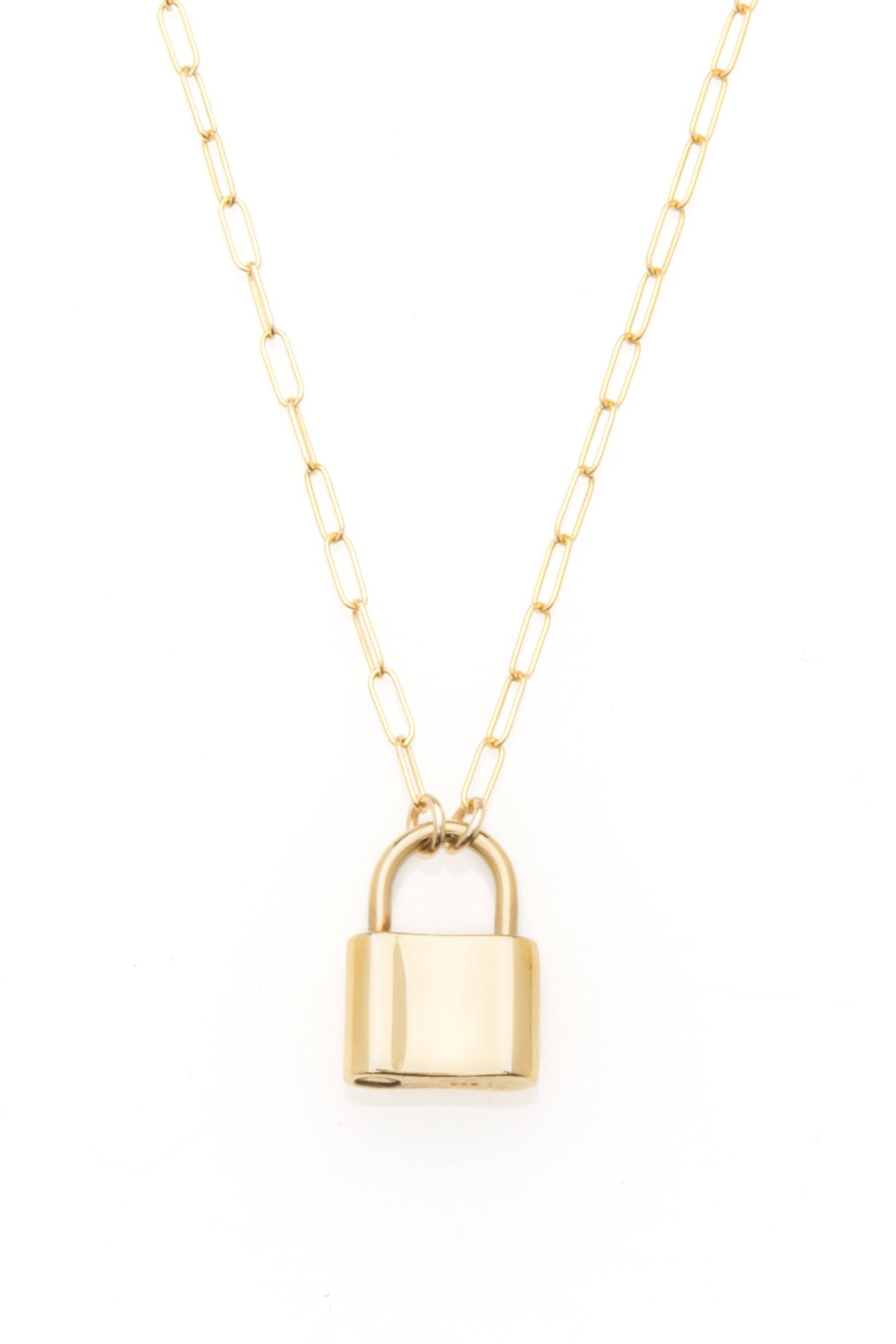 Monaco Lock Necklace - The Canyon