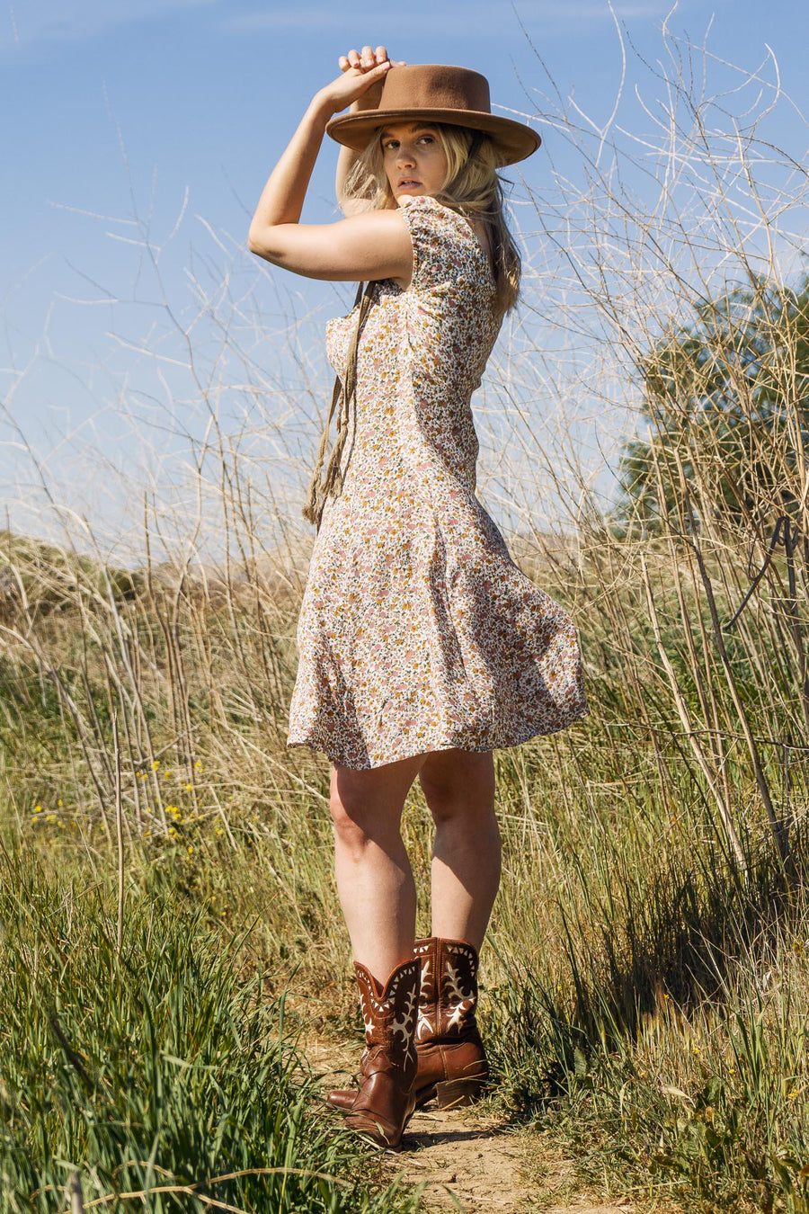 Erin Coast Floral Dress - The Canyon