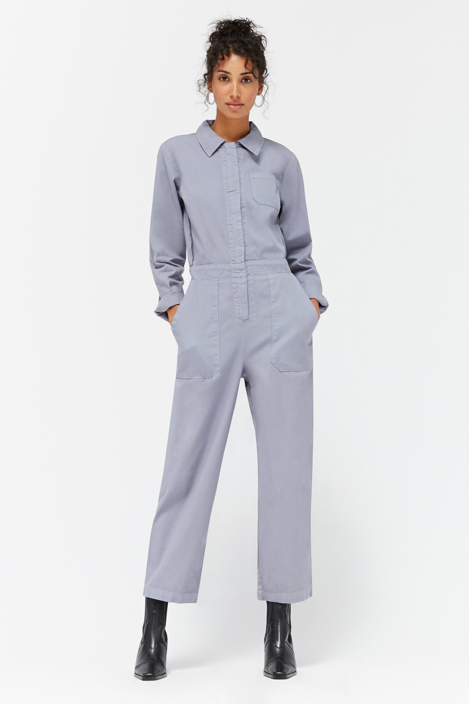 Phoenix Jumpsuit - Fossil - The Canyon