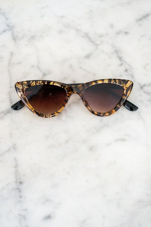 Naughty Cat Eye Sunglasses - The Canyon