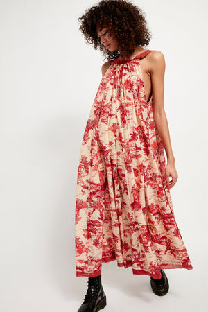 Tropical Toile Maxi - The Canyon