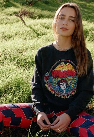 Grateful Dead Firebird Varsity Crew Sweatshirt - The Canyon