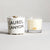 Tisane Classic Rock Votive Candle - The Canyon