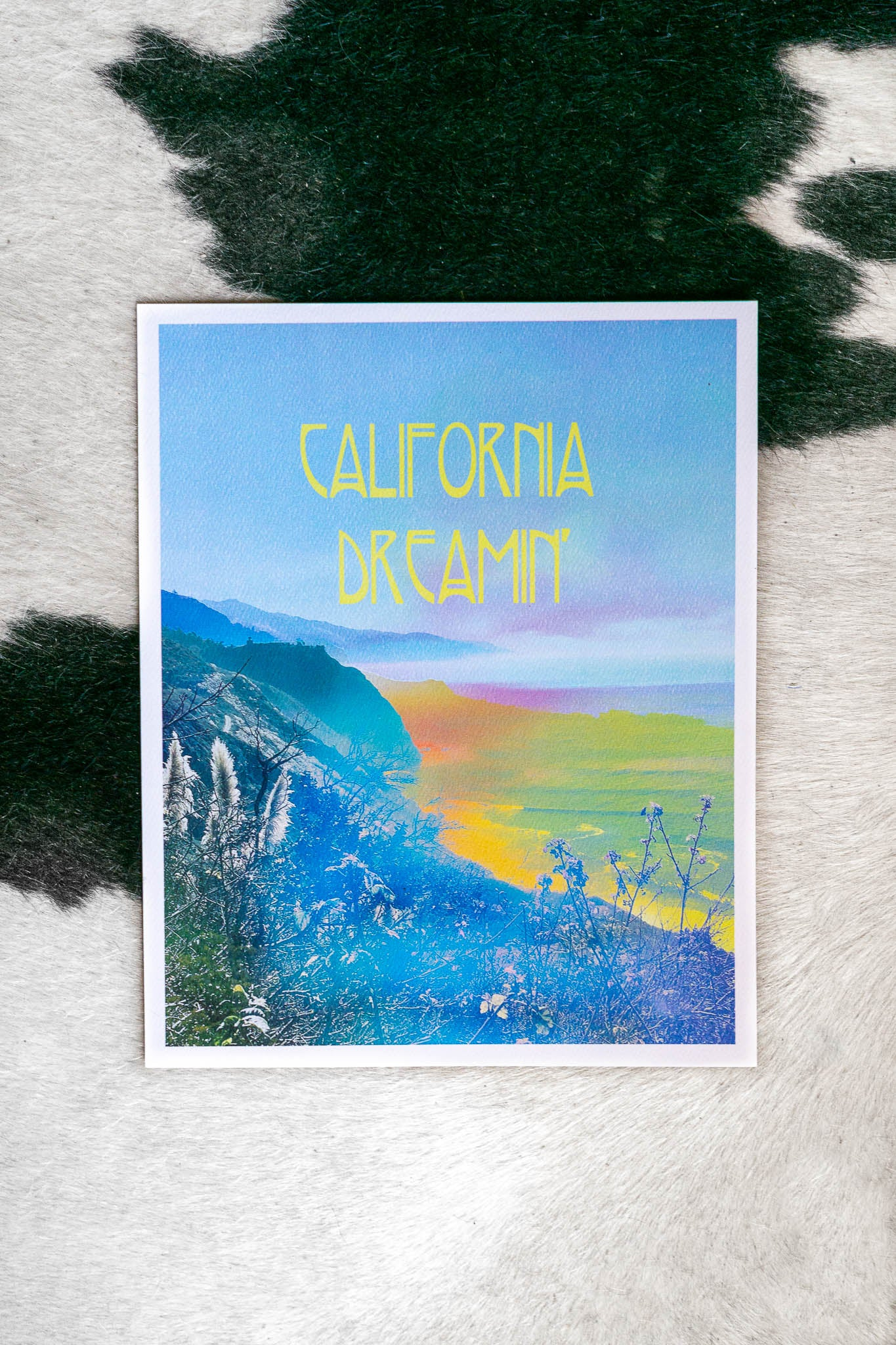 California Dreamin' Art Print - The Canyon