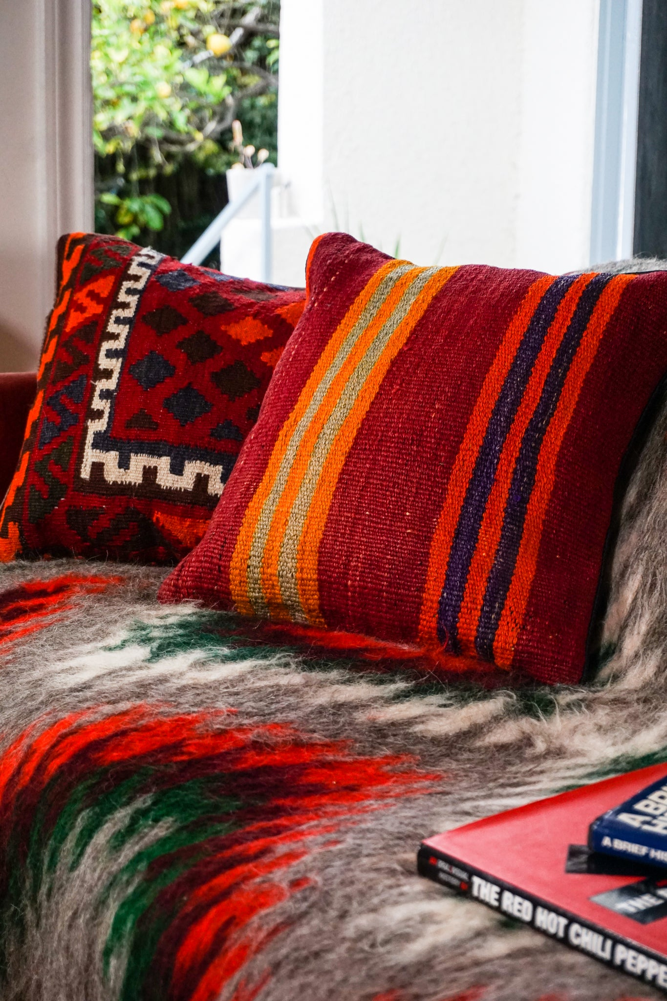 Afghan Kilim Pillow - The Canyon