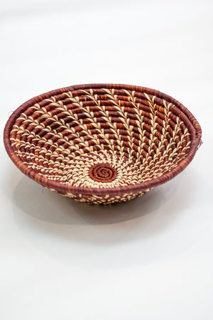 African Woven Basket - The Canyon