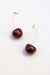 Acrylic Cherry Earrings - The Canyon