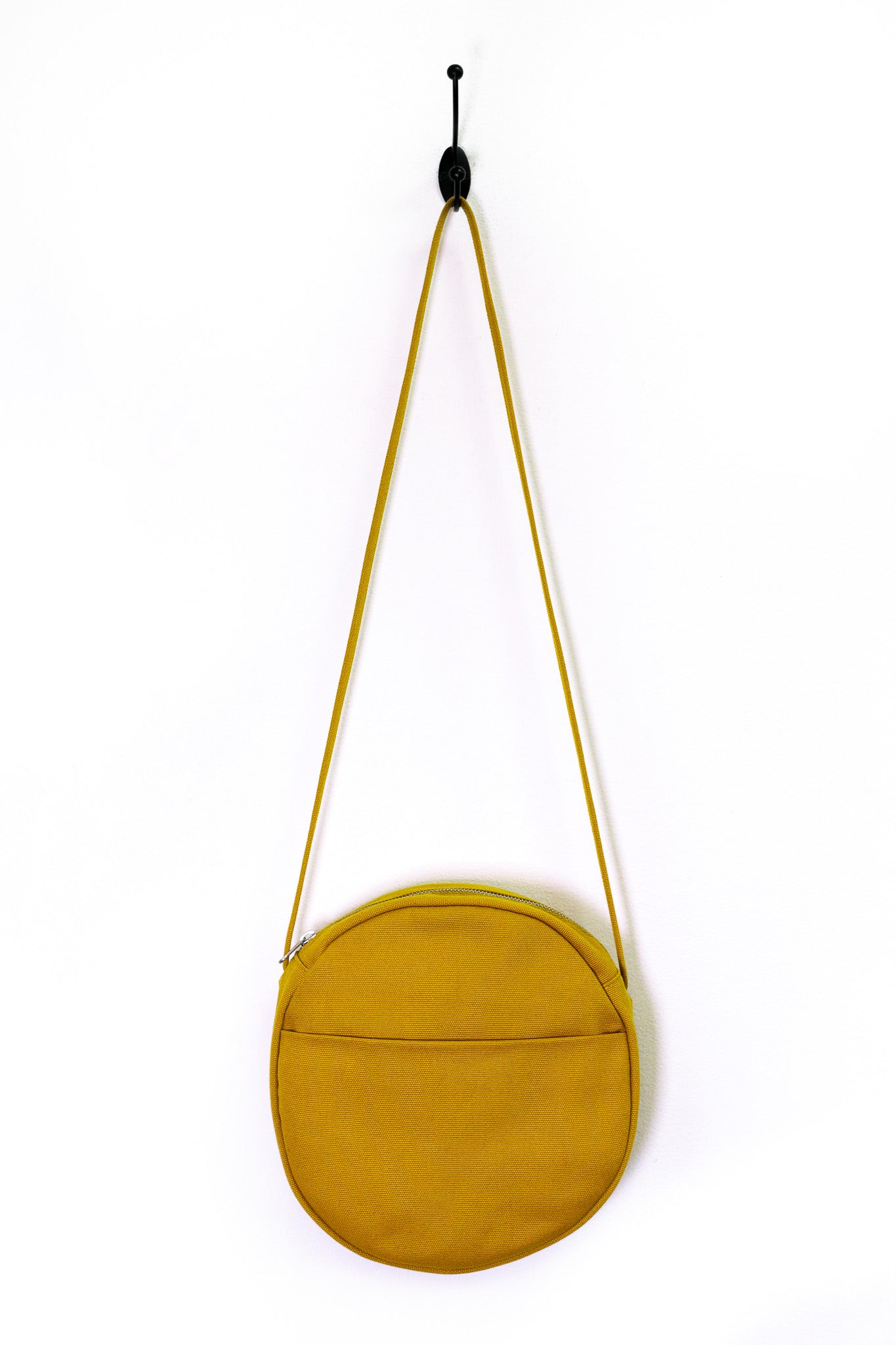 Canvas Circle Purse - The Canyon