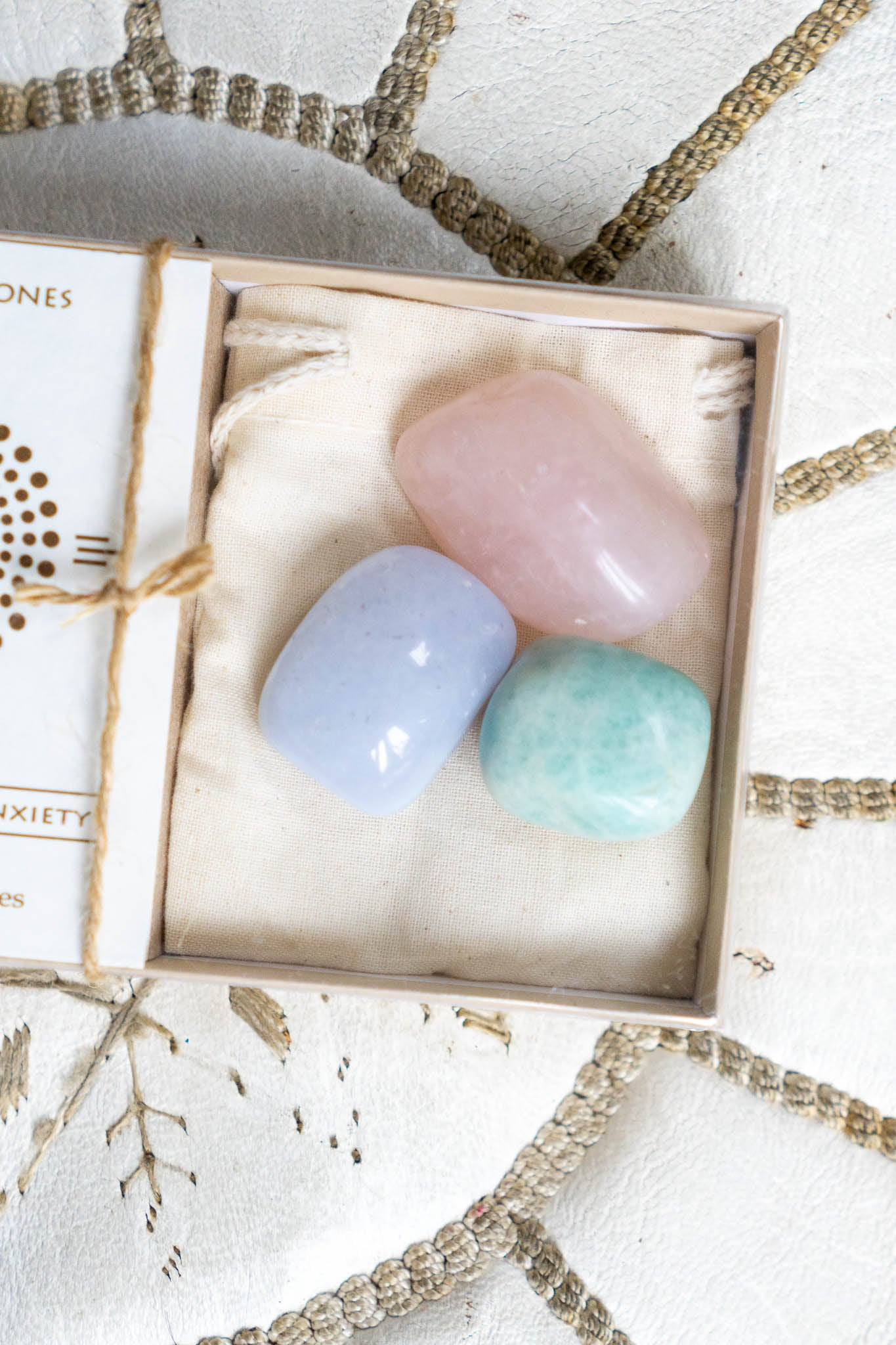 Calming and Anti-Anxiety Stone Set - The Canyon