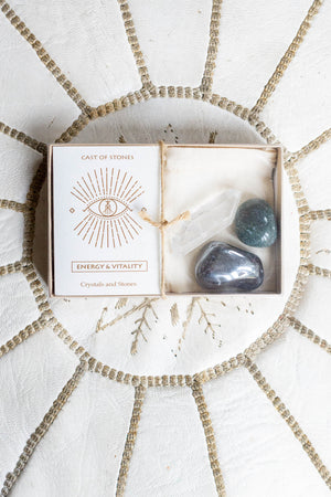 Energy and Vitality Stone Set - The Canyon