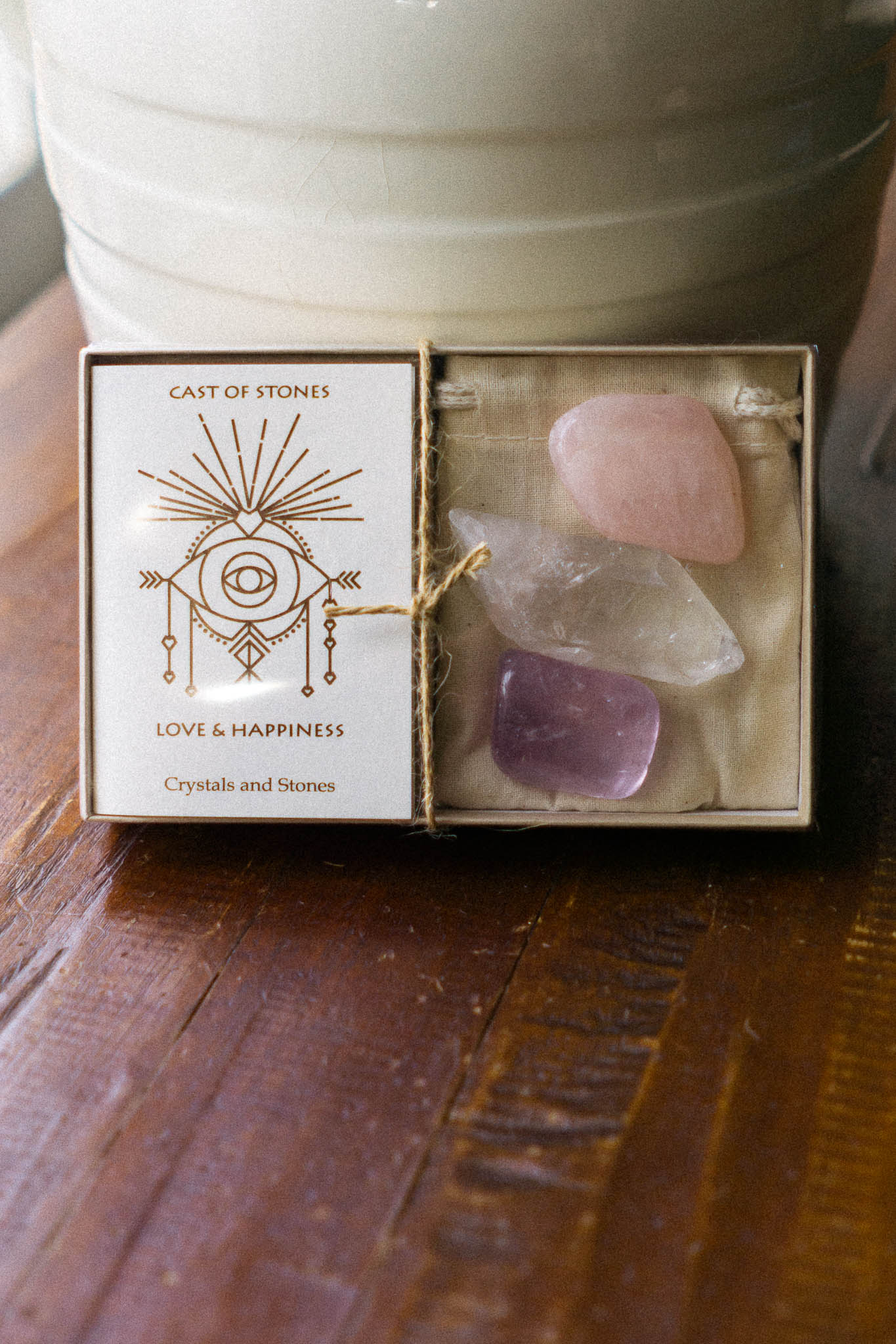 Love and Happiness Stone Set - The Canyon