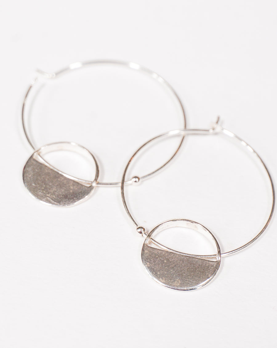 Circle Earrings - The Canyon