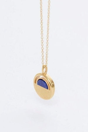Clarity Lapis Necklace - The Canyon