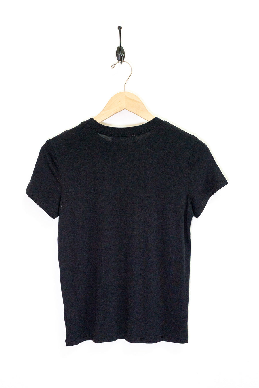 Crew Neck Crepe Tee - The Canyon