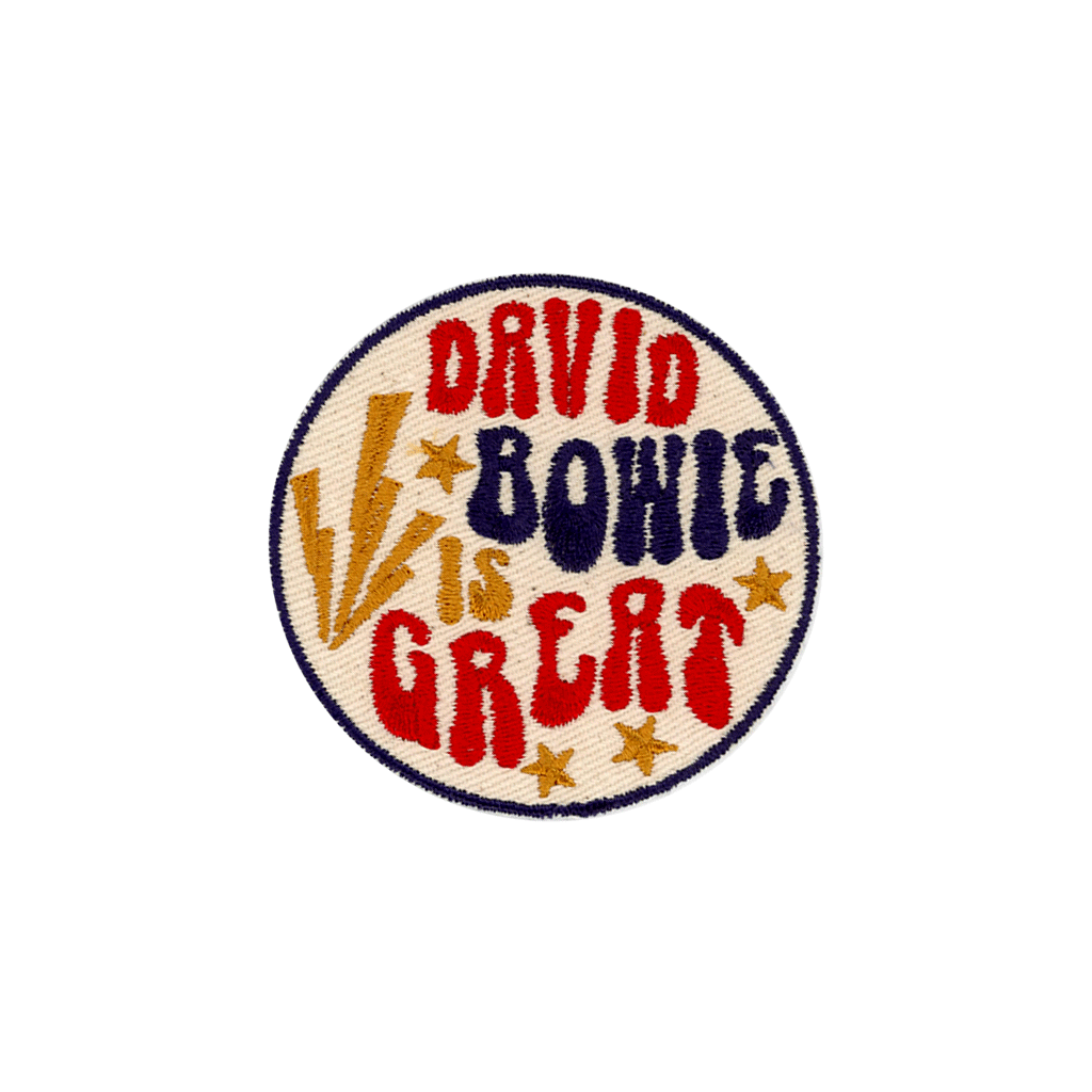 David Bowie is Great Patch - The Canyon