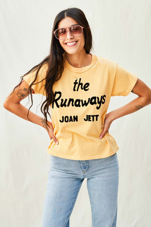 Joan Jett Runaways Reverse Girlfriend Tee - The Canyon